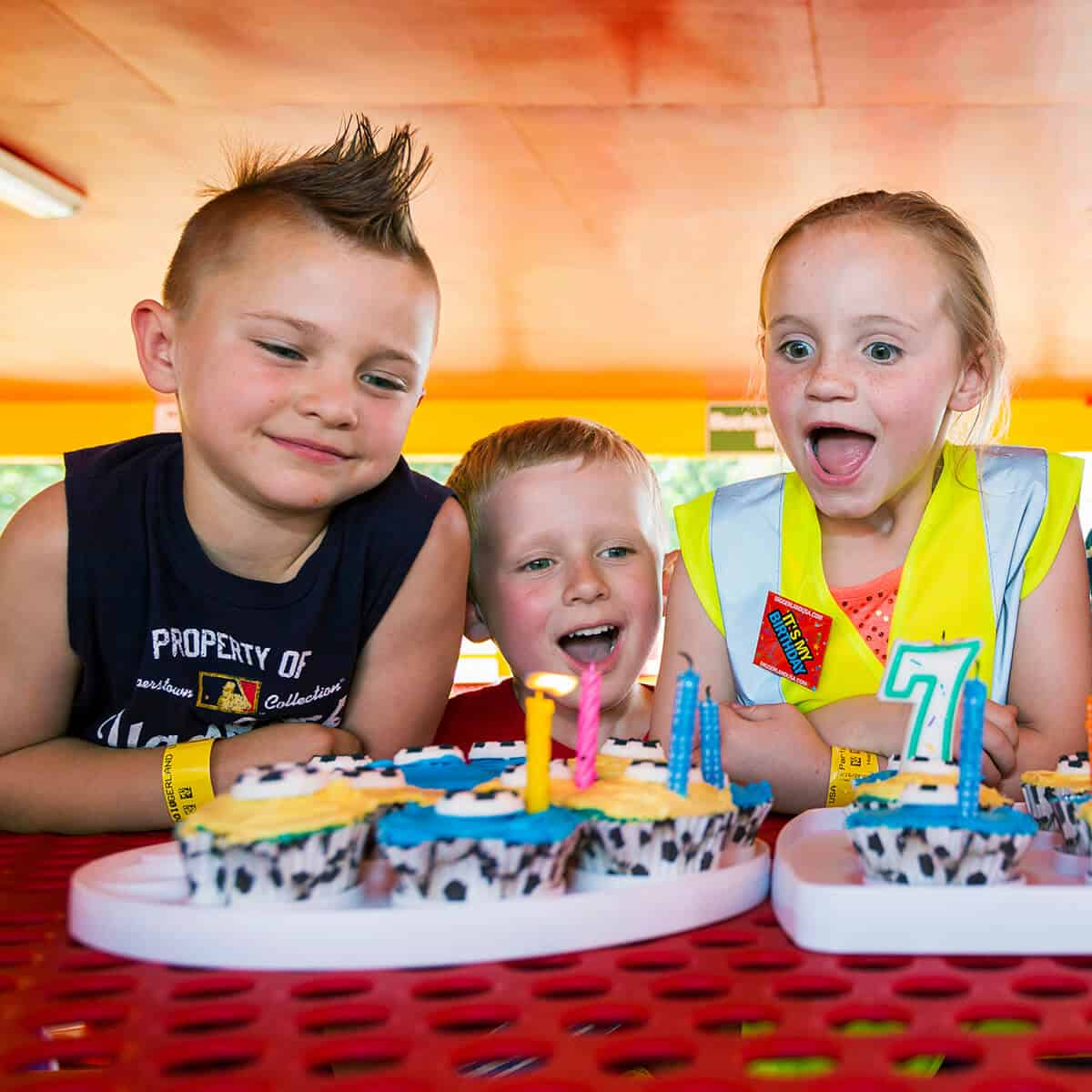 Special construction-themed birthday parties at Diggerland
