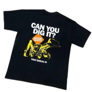 Diggerland can you dig it t-shirt black front